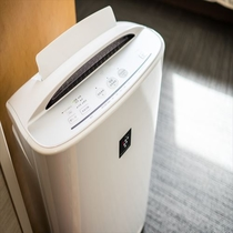 加湿器付空気清浄器乾燥防止・きれいな空気・除菌・消臭・ウイルス防止・花粉防止