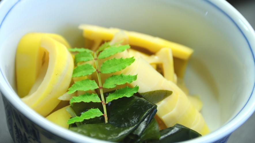 旬のお野菜で作る煮物は絶品!