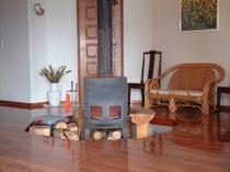 リビング暖炉ホール