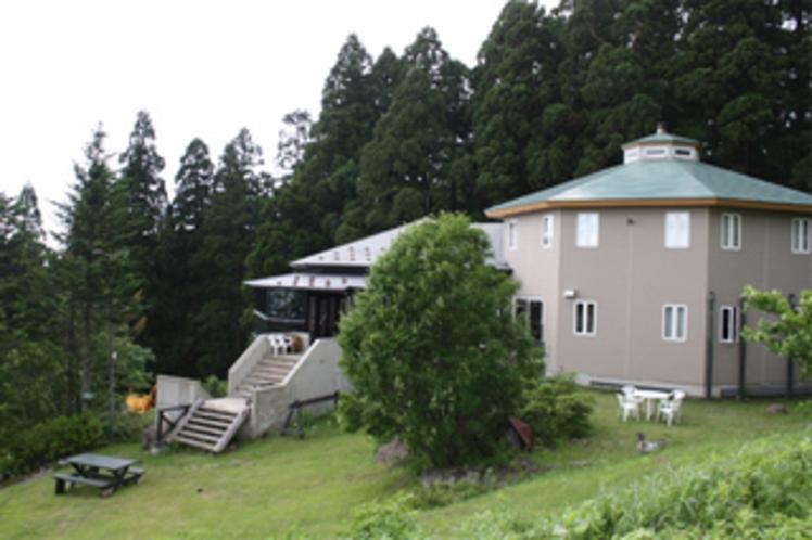 夏の建物外観
