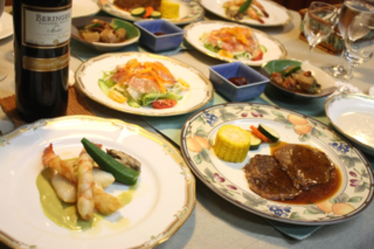 夕食 dinner フレンチ/イタリアンのフルコース00