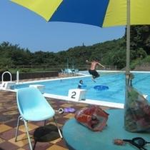 水仙荘のプライベートプール