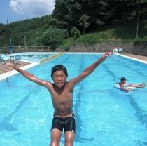 水仙荘のプール