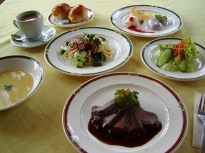 コース料理の一例
