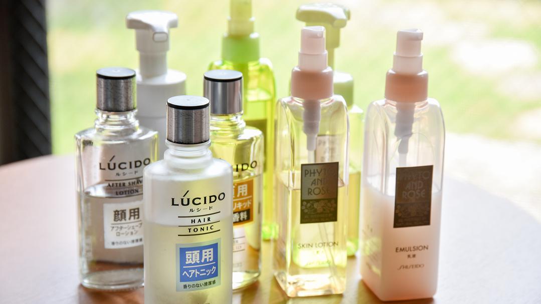 *【アメニティ】化粧水・乳液等をご用意しております。