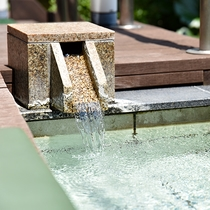 *【足湯】1階ロビー前にある足湯も、ご自由にお試しください。