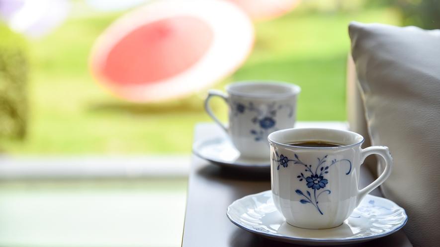 *【コーヒー】毎朝8時~11時までロビーにてコーヒーサービスを実施しております。