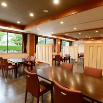 *【食事処_駿河】夕・朝食は、テーブル席の駿河でご用意いたします(別会場にご案内する場合あり)