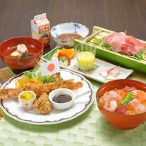*お子様の夕食一例/見た目も可愛らしいお料理をご用意いたします。