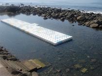 宿より徒歩4分・稲取池尻海岸・海岸すぐ上に町営プール有り