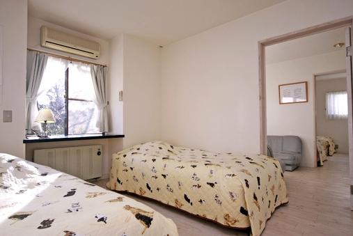 寝室2部屋とリビング1部屋の洋室タイプ【2階禁煙ペット可】