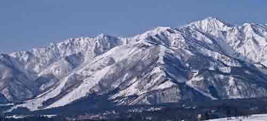 白馬五竜&Hakuba47スキー場の全景