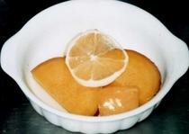 さつま芋とりんごのレモン煮