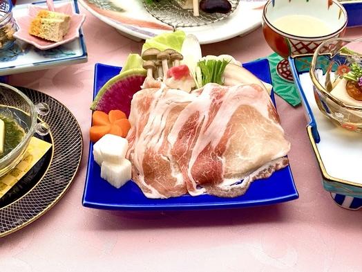 彩の国黒豚&高級地鶏の創作会席≪1泊2食付き≫