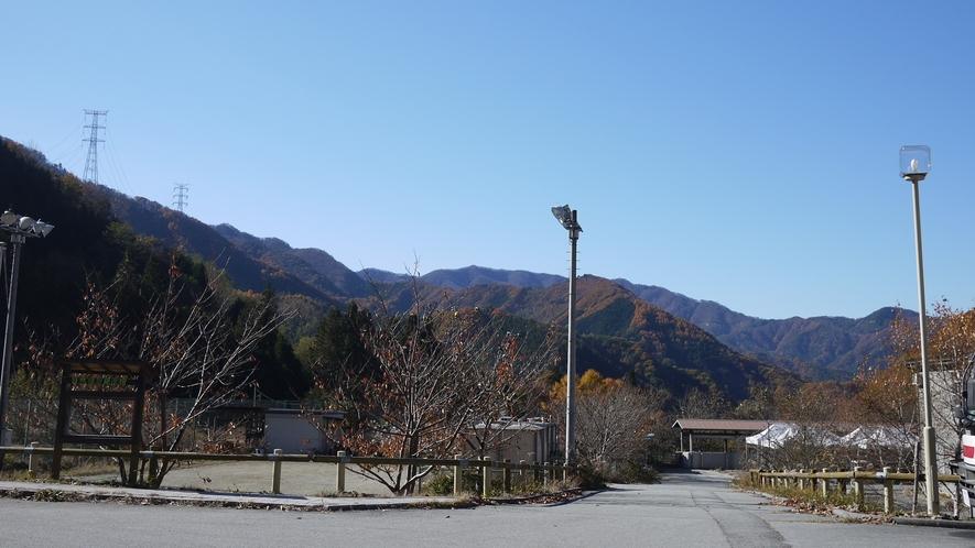 *【周辺】身近な里山から大菩薩嶺の山々まで様々な自然に触れることができます。