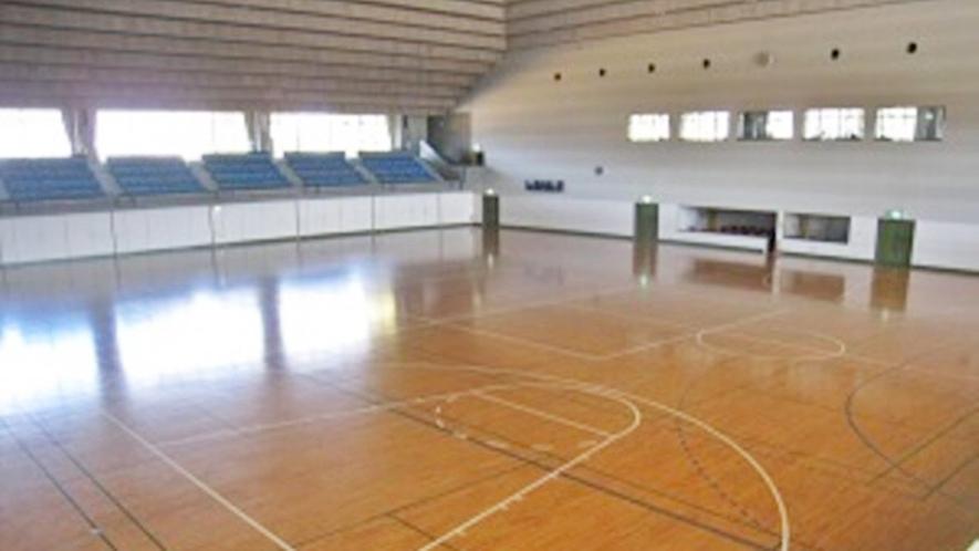 *体育館アリーナ観客席(固定・移動)832席 各種競技・ダンス・運動会など様々な種目に利用できます。