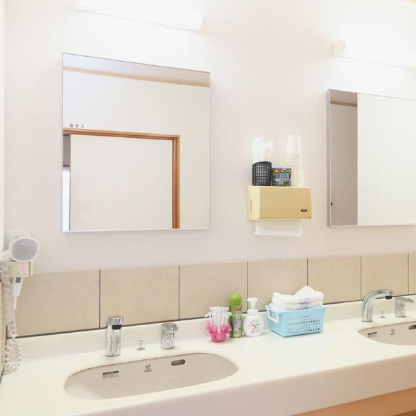 別館洗面 リニューアルしており気持ちよくお使い頂けます。