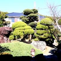 お部屋からは四季折々の風景が彩る庭園を望むことが出来ます