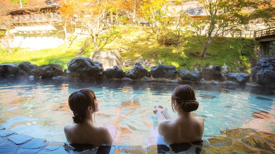 混浴露天風呂「大沢の湯」