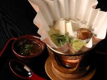 湯豆腐(朝食)