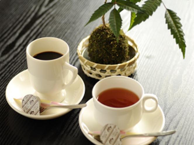 コーヒー、紅茶(朝食時に無料サービス中!)