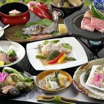 【ご夕食/懐石料理】新しいを取り入れた<田舎のごちそう>料理※写真はイメージです