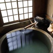 【貸切風呂/かかし】誰にも気兼ねせずに、ゆっくりと天然温泉を楽しんでいただけます