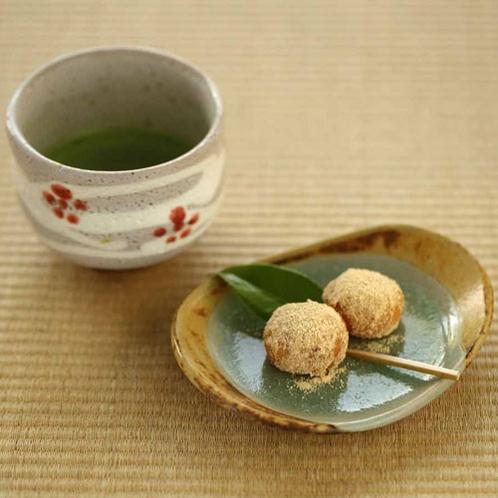 【お茶菓子】17:30チェックインまでお召し上がりいただけます!