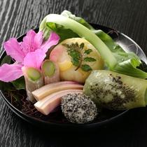 【ご夕食/一例】旬の食材を心を込めて調理いたします