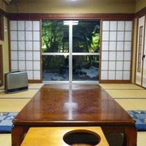 *和室一例/8畳〜10畳の純和風の造り。1室限定でペットと泊まれるお部屋もございます!