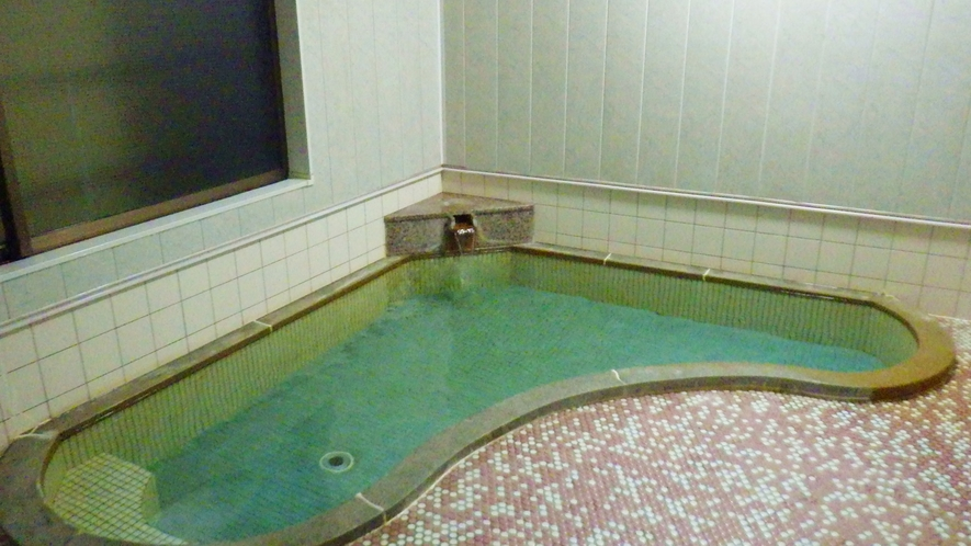 *大浴場一例(男女入れ替え制)/加水なし100%天然温泉の湯は入りやすい温度でゆっくりと浸かれます♪