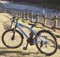 馬瀬地区をのんびりサイクリング♪電動アシスト付レンタル自転車