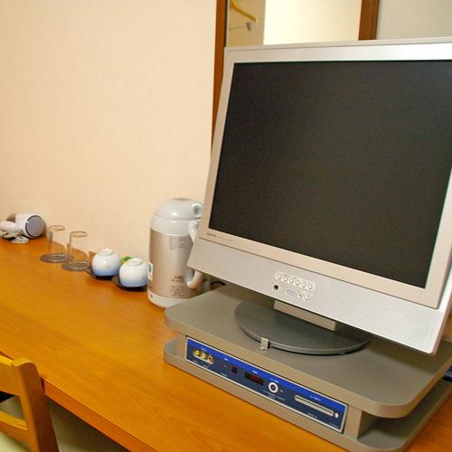 全室液晶テレビとなっております