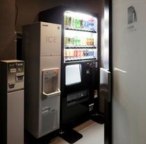 3〜14階の自動販売機コーナー