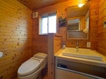 洗面所&トイレです