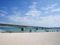 古宇利島のビーチ