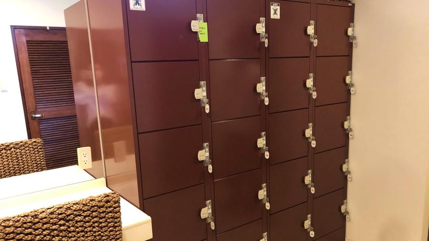 ≪シャワールーム≫ロッカーも完備なので貴重品管理もばっちりです。