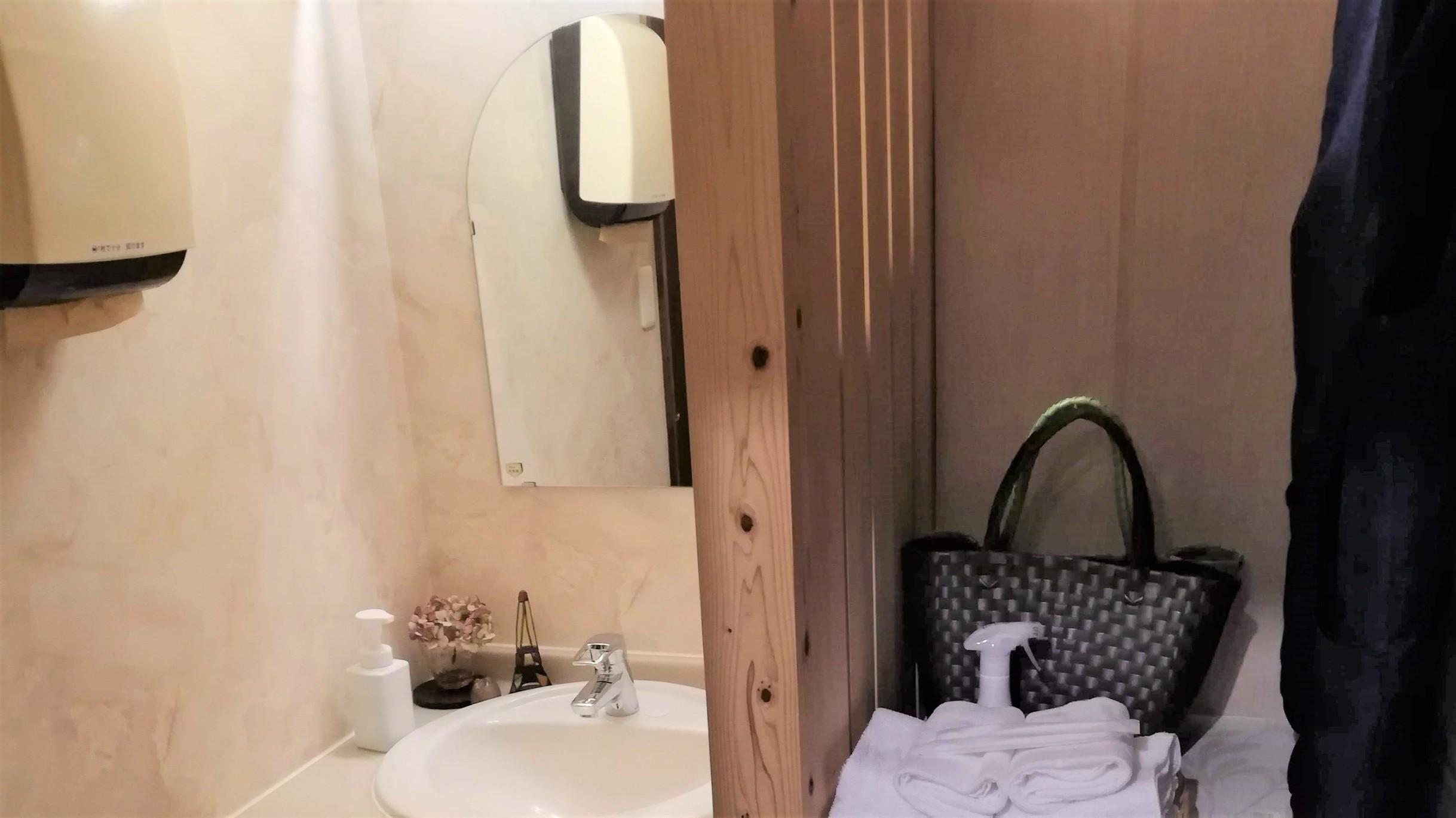 2021年3月より6畳和室に洗面・ウォシュレット付きトイレに改修しました