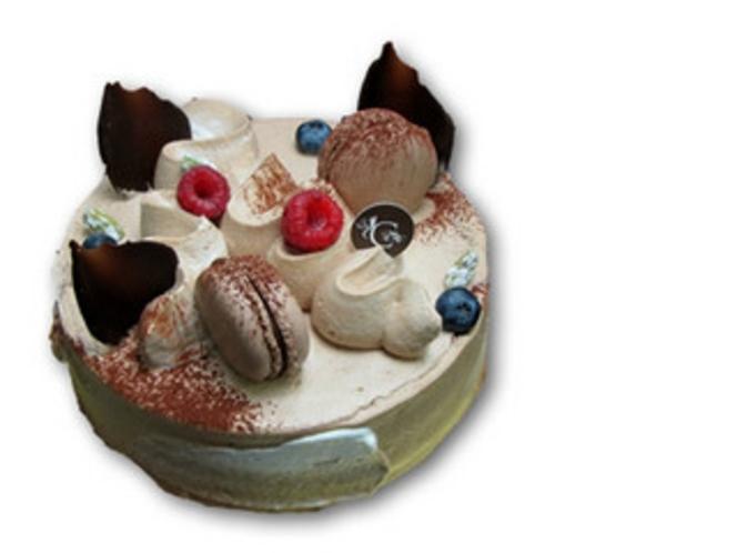【選べるケーキは4種類】チョコレートのデコレーションケーキ(イメージ一例)