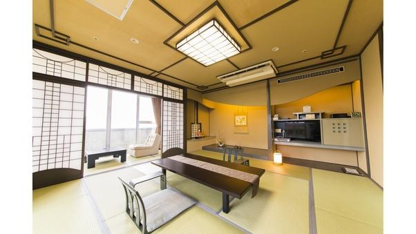 【禁煙】【和洋室】最上階角部屋 和室12.5畳+洋室