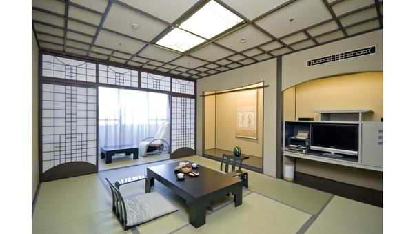 【禁煙】黒川デザインの粋を極めた最上階客室(夕朝料亭花数寄)