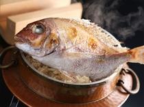 【御飯】郷土料理 鯛釜飯 ※写真は5人前大釜イメージ