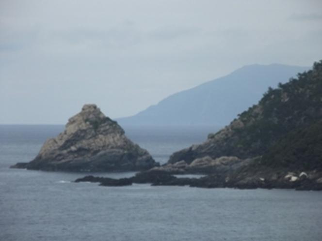 立神の奇岩