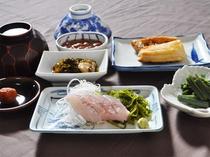 【ご朝食一例】
