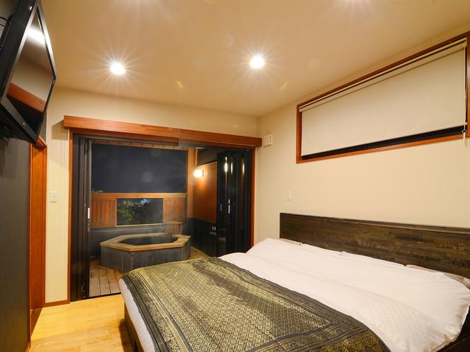 【誉徳-よとく-】2F ベッドルーム