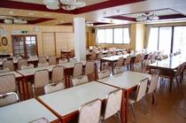 和田山荘の食堂