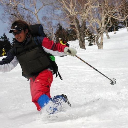 ★戸隠スキー場 スキーイメージ
