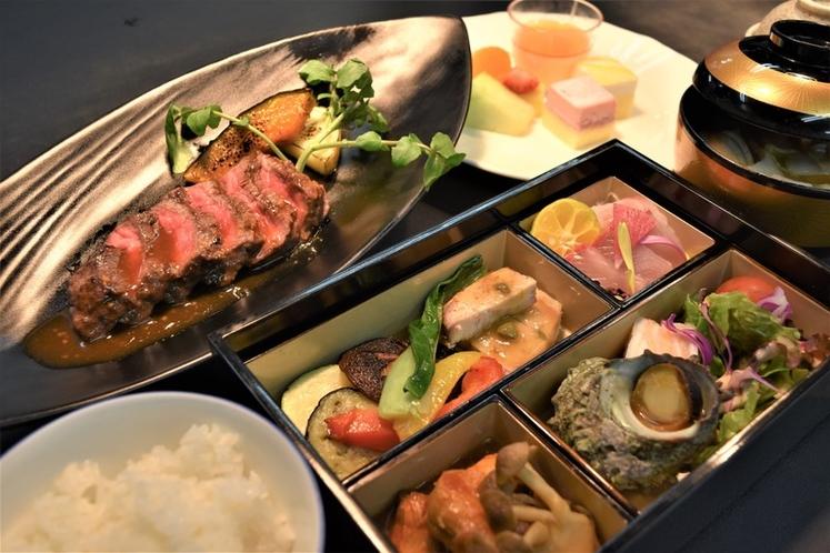 【お部屋食】静岡国産牛ステーキ御膳