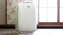 【全室完備】加湿機能付き空気清浄機