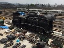 【京都鉄道博物館】解体している風景も見られるかも!